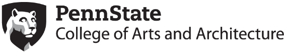 Penn State Department of Arts and Architecture Logo