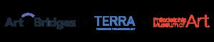 Art Bridges + Terra Foundation + Philadelphia Museum of Art logo