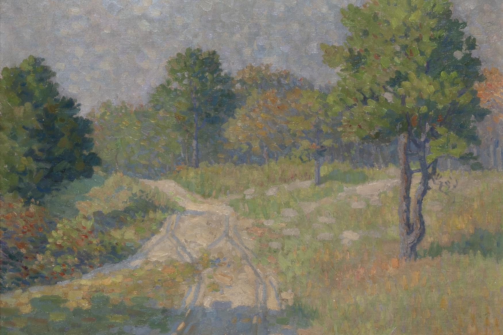 George Loftus Noyes, Sunlit Road, c. 1910