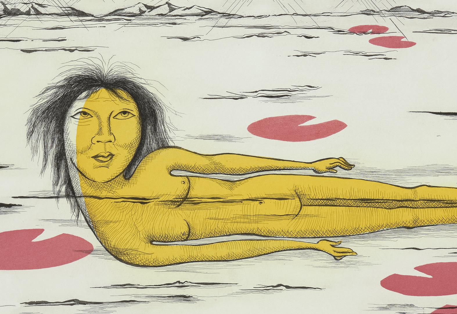 Patti Warashina, Lotus Float, 2005