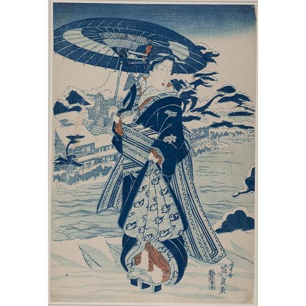 A work from Ukiyo-e